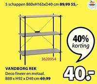 Vandborg rek-Huismerk - Jysk