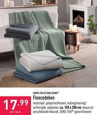 Fleecedeken-Home Creation Living