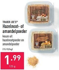 Hazelnoot- of amandelpoeder-TRADER JOE'S