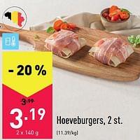 Hoeveburgers-Huismerk - Aldi