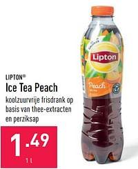 Ice tea peach-Lipton