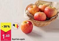 Royal gala-appels-Huismerk - Aldi