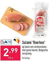 Salami boerken-Huismerk - Aldi