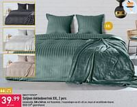 Satijnen dekbedovertrek xxl-Quality Textiles