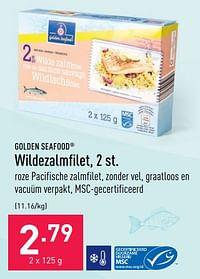 Wildezalmfilet-Golden Seafood