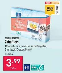 Zalmfilets-Golden Seafood