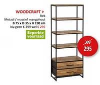 Woodcraft rek-Huismerk - Weba