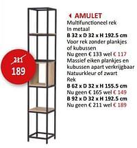 Amulet multifunctioneel rek-Huismerk - Weba