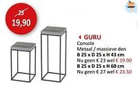 Guru console-Huismerk - Weba