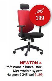 Newton professionele bureaustoel-Huismerk - Weba