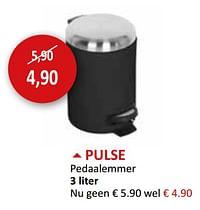 Pulse pedaalemmer-Huismerk - Weba