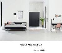 Kidsmill modular zwart bureau-Kidsmill