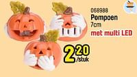 Pompoen-Huismerk - Happyland