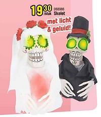 Skelet-Huismerk - Happyland
