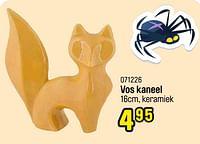 Vos kaneel-Huismerk - Happyland
