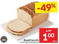 Brood carro xl panter, tijger of meergranen-Huismerk - Intermarche