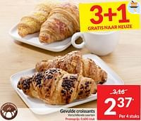 Gevulde croissants-Huismerk - Intermarche