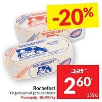 Rochefort ongezouten of gezouten boter-Rochefort