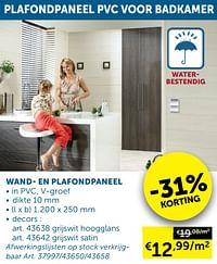Wand- en plafondpaneel-Huismerk - Zelfbouwmarkt