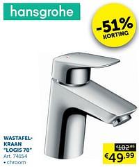 Wastafelkraan logis 70-Hansgrohe