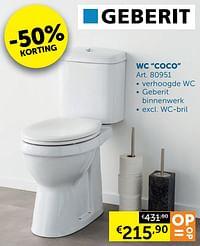 Wc coco-Geberit