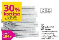 Matras comfort 400 heaven-Huismerk - Leen Bakker