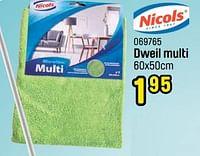 Dweil multi-Nicols