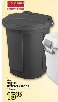 Megano afvalcontainer-Sunware