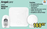 Angelcare babyfoon ac127-Angelcare