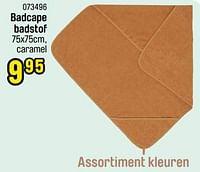Badcape badstof-Jollein