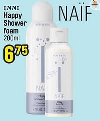 Happy shower foam-Naif