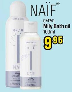 Mily bath oil