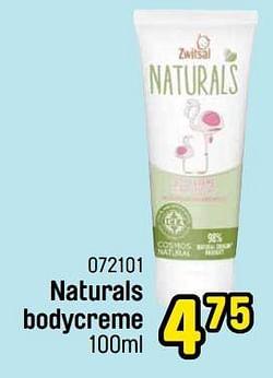 Naturals bodycreme