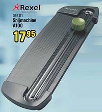 Rexel snijmachine a100-Rexel