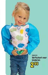 Verfschort voor kinderen-Huismerk - Happyland