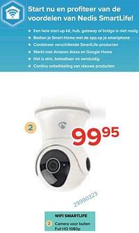 Nedis wifi smartlife camera voor buiten full hd 1080p-Nedis
