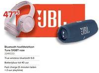 Jbl bluetooth hoofdtelefoon tune 510bt roze-JBL