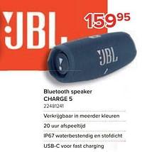 Jbl bluetooth speaker charge 5-JBL