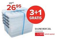 Q-line box-Sunware