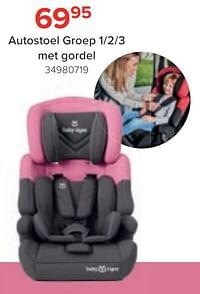 Autostoel met gordel-Huismerk - Euroshop