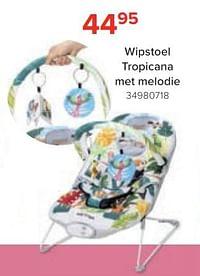 Wipstoel tropicana met melodie-Huismerk - Euroshop