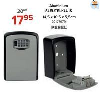 Aluminium sleutelkluis-Perel