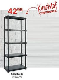 Kunststof opbergrek 188 x80x40-Practo