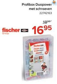 Profi box duopower met schroeven-Fischer