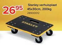 Stanley verhuisplaat-Stanley