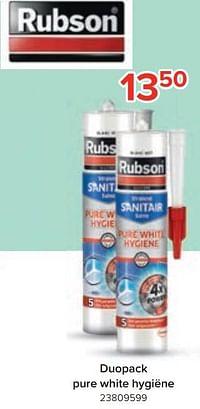 Duopack pure white hygiëne-Rubson