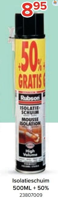 Isolatieschuim-Rubson