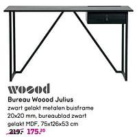 Bureau woood julius-Woood