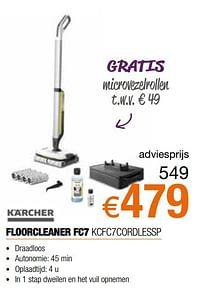 Kärcher floorcleaner fc7 kcfc7cordlessp-Kärcher