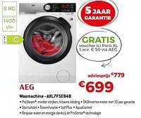 Aeg wasmachine - axl7fse84b-AEG